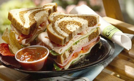 $10 for $15 at Camille&#x27;s Sidewalk Cafe Missouri