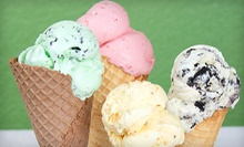 $7 for $15 Worth of Food and Ice Cream Creations at Rock n' Roll 'a la Mode