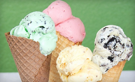 $7 for $15 Worth of Food and Ice Cream Creations at Rock n&#x27; Roll &#x27;a la Mode