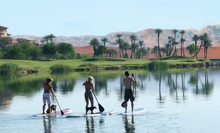 $22 for an Easy Stand Up Paddle Board Session at Paddle to the Core