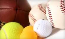 $10 for $20 Worth of Sporting Equipment at Boomerang Sports & Fitness