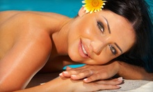 $20 for Spray Booth Tan or a High Pressure Tan at Custom Tan and Spa