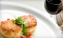 $20 for 2 Glasses of Wine &amp; 1 Appetizer for Two (Up to $43 Value) at Bliss 525