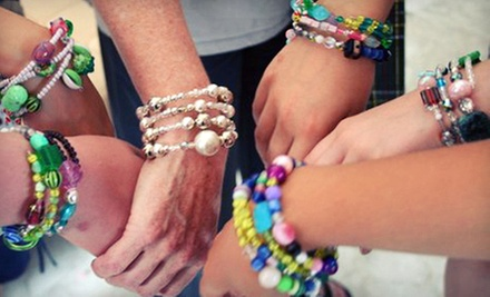 $22 for a Bracelet Making Class for One at The Sugar Factory by Gay Isber Designs