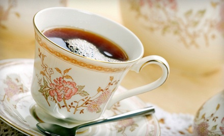 $35 for High Tea for Two  at London Cafe