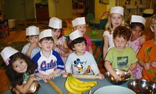 $17 for a Cooking Class for Ages 2-6 at 10:30 a.m. at Pied Piper Parties & Playschool