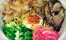 $5 for $15 Worth of Japanese Fare at Moto-i