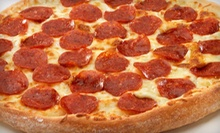 $7 for One Large Pepperoni Pizza  at Papa Romano's Pizza