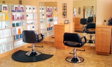 $60 for Flash Highlights, Deep Conditioning Treament, &amp; Blow Out at William James Salon and Spa