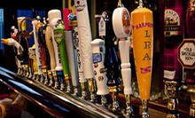 $23 for 2 Beer Flights &amp; 2 Small Plates/Mussel Entrees (Up to $60) at The Three Monkeys