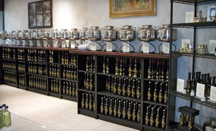 $15 for $30 Worth of Gourmet Olive Oils, Vinegars, and Salts at Two Sisters Olive Oil