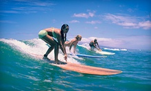 $89 for a Two-Hour Private Surf Lesson and Tour of Mavericks at Jetty Betty Surf School San Francisco