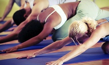 $8 for a 90-Minute Yoga Class at 7 p.m. at Stress Less Yoga