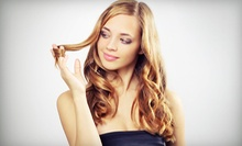 $39 for Face-Framing Highlights, Haircut, Deep Condition and Style at Fancy That Salon