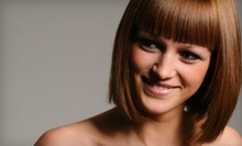 $58 for a Cut, Highlights &amp; MoroccanOil Therapy Treatment at Allure De Vie Salon &amp; Day Spa