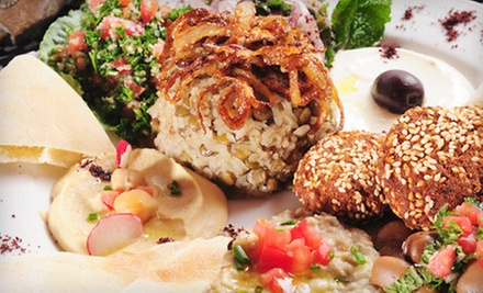 $3 for $6 at Hedary&#x27;s Mediterranean Restaurant--Allen