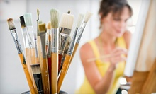 $10 for a 2 p.m. Two Hour Painting Session  at ArtAbility Studios Inc.