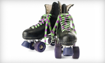 $8 for Admission, Skate Rental, Popcorn, and Drinks for Two at Lanham Skating Center