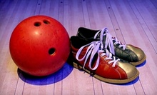 $9 for One Game and Shoe Rental for Two People  at Oasis Bowling Center