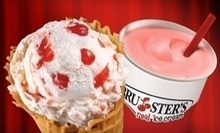 $3 for $5 at Bruster's Ice Cream