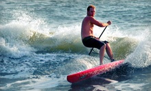 $17 for a 1 p.m. Four-Hour Surf Board Rental  at Paddleboard New Smyrna Beach