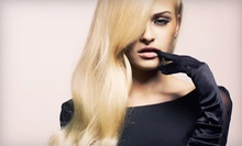 $87 for Cut, Color or Partial highlights &amp; Nano Scalp &amp; Hair Masque  at Voss Salon &amp; Day Spa