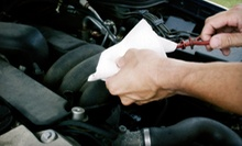 $25 for an Oil Change, Rotation, Blades, Battery Check &amp; Inspection at Auto Plus
