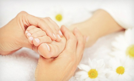 $45 for a One-Hour Reflexology Massage at 1 Massage 4 U