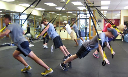 $5 for a 5:30 p.m. 60-Minute TRX Core Fusion Toning Class at Goality Fitness Club
