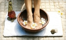 $25 for a Single Session Spray Tan at Aqua Lifestyle Nail Salon &amp; Spa