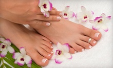 $32 for an Express Manicure and Pedicure at Phamily Nails Salon