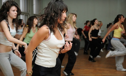 $10 for a Zumba Class at 7:15 p.m. at Ms. Valerie's School of Dance