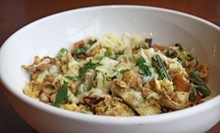 $32 for 1 App, 2 Entrees, and 2 Glasses of Wine (Up to $70 Value) at Four Daughters Kitchen