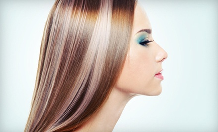 $74 for Redken Color, Treatment,  Haircut and Blowdry  at Goddess Salon &amp; Spa