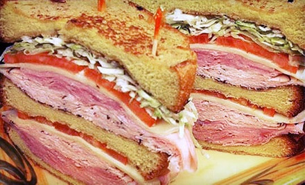 $15 for Two Soups, Two Sandwiches and Two Soda's at Tuscany Deli