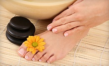 $23 for a Deluxe Spa Pedicure (Including Hot Stones & Sugar Scrub) at 4D Nails