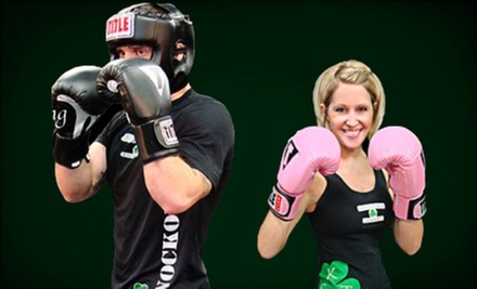 $10 for a 12 p.m. Boxing Class at Southside Knockout Training Center