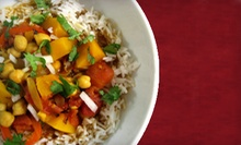 $20 for 1 App, 2 Entree, and 2 Desserts or 2 Glasses House Wine/Beer at India Chaat and Sweets