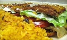 $10 for $20 Worth of Latin American Take-Out at Borinquen Restaurant