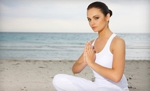 $12 for a 12:00 p.m. Beginners Yoga Class  at Yoga Circle Downtown