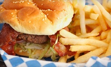 $9 for a Cheeseburger Meal for Two at Uncle Bo's Hamburgers and Deli
