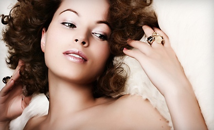 $40 for Shampoo, Deep Conditioning Treatment, Cut, and Style Blowdry at Ricciolo Salon & Day Spa