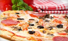 $7 for $14 Worth of Food & Drinks at King Pizzeria