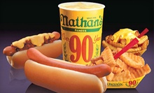 $3 for $5 at Nathan's Famous Hot Dogs- Lower Roswell