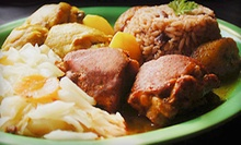 $5 for $10 Worth of Authentic Jamaican Cuisine at Ja' Grill Restaurant &amp; Lounge