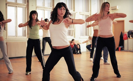 $5 for a One-Hour Zumba Class at 1 p.m.  at Full Motion Fitness