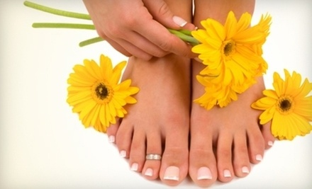 $27 for CND Shellac Nails at D'ames Day Spa