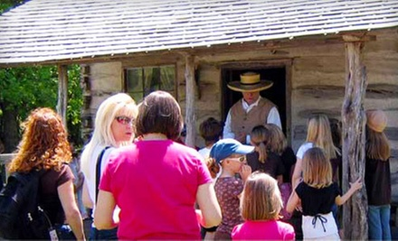 $7 for 1 Adult and 1 Child Admission at Pioneer Farms