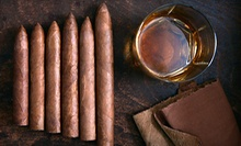 $25 for $50 at C Lounge & Cigar Bar