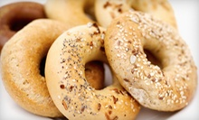 $6 for a Dozen Assorted Bagels  at Bagel Talk Inc